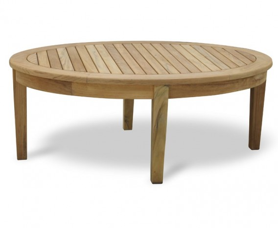 Cotswold Large Oval Teak Outdoor Coffee Table