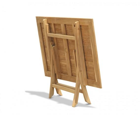 Palma Teak Folding Garden Table - 1.2m