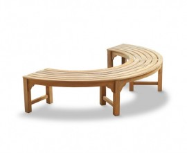 Cosmos Half Round Backless Tree Seat – 2.2m