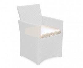 Azure Garden Chair Cushion - Ecru/Natural