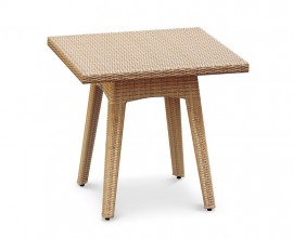 Verona Square Rattan Dining Table - 80cm