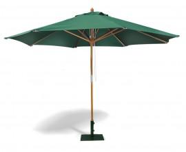 Octagonal Wooden Garden Parasol - 3.5m