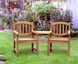 Kennington Teak Companion Seat
