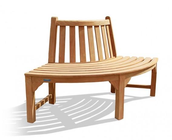 Teak Tree Seat Quarter