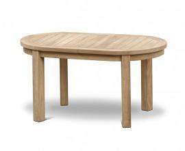 Wimbledon Teak Oval Coffee Table