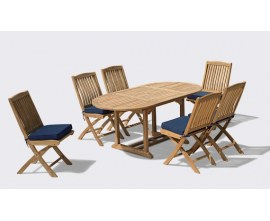 Cannes Dining Sets | Teak Garden Furniture Sets