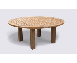 Chunky Garden Tables | Hardwood Garden Tables | Orion Tables