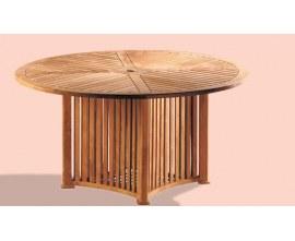 Round Garden Tables | Circular Garden Tables | Round Teak Tables