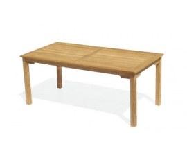 Teak Rectangular Garden Tables | Long Garden Tables | Rectangle Tables