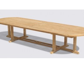 Extra Large Dining Tables | Extra Large Patio Table | Large Teak Table