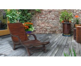 Monte Carlo Indoor Loungers | Indoor Teak Loungers