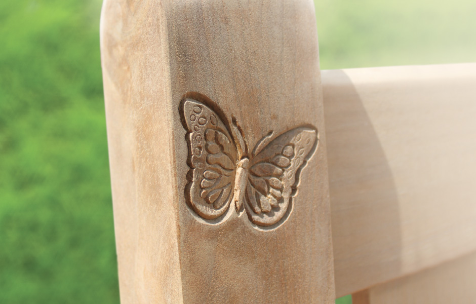 Butterfly Wood Carving